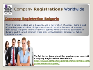 company registration bulgaria