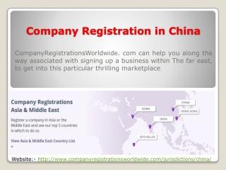 Company Registration China