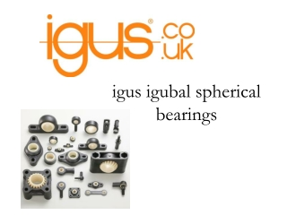 igubal spherical bearings