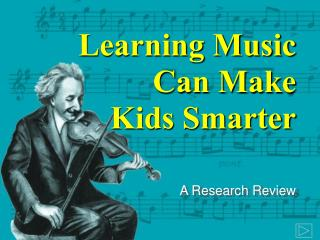 Learning Music  Can Make  Kids Smarter