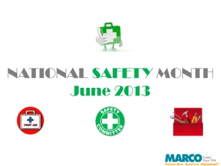 Celebrate National Safety Month with Promotional Products at