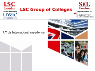 Study with LSC London | Highly Trusted College In London