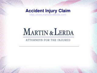 Accident Injury Claim