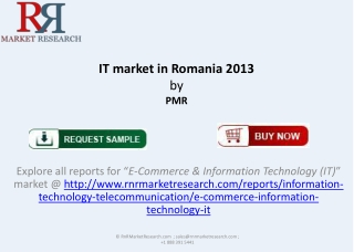 2013-2015 Romania IT Market