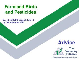 Farmland Birds and Pesticides