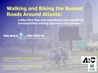 Walking and Biking the Busiest Roads Around Atlanta: