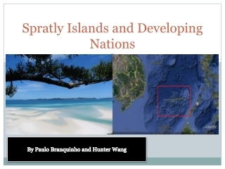Spratly islands in the south china sea