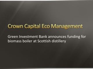 Green Investment Bank announces funding for biomass boiler a