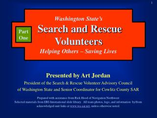 Washington State's Search and Rescue Volunteers Helping Others – Saving Lives