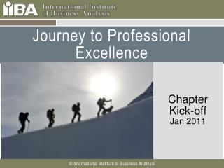 Journey to Professional Excellence