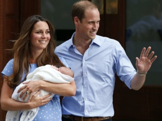 Royal Baby - William and Kate announce their new son