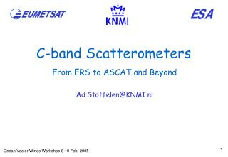 C-band Scatterometers