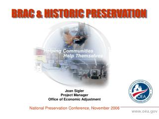 BRAC & HISTORIC PRESERVATION