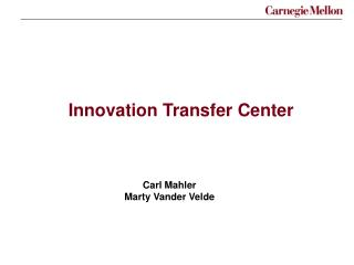 Innovation Transfer Center