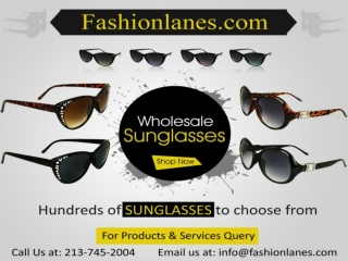 Important Tips for Purchasing Wholesale Sunglasses