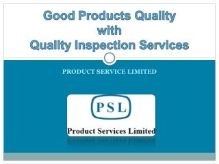 Quality Assurance China