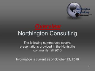 Overview Northington Consulting