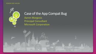 Case of the App Compat Bug