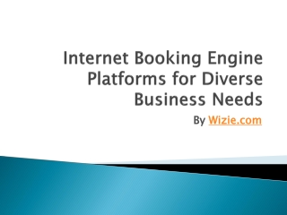 internet booking engine, travel booking engine, B2B