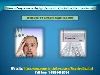 Generic Propecia a perfect guidance directed to treat hair l
