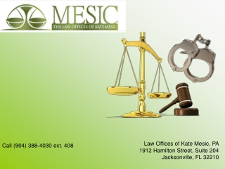 Drunk Driving Attorney Florida - Kate Mesic