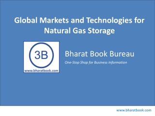Global Markets and Technologies for Natural Gas Storage