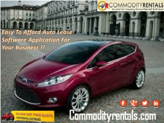 Buy Most Affordable Car Rental Systems To Streamline Your Bu