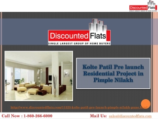 Spacious 2 and 3BHK Apartments in Pimple Nilakh