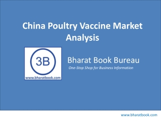 China poultry vaccine market analysis
