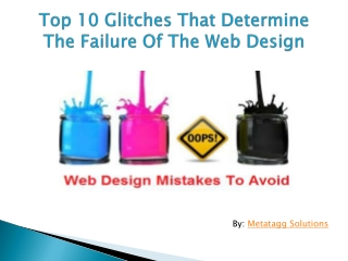 Web Design Tips: Avoid Your Web Design From Failure