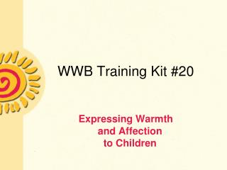 WWB Training Kit 20