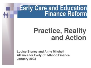 Early Care and Education Finance Reform