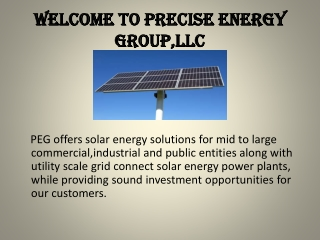 welcome to precise energy group,llc