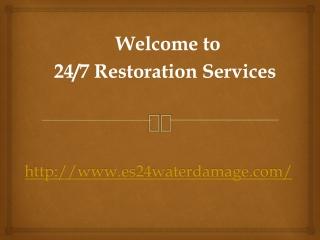 Damage restoration