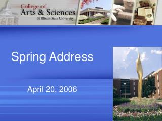 Spring Address