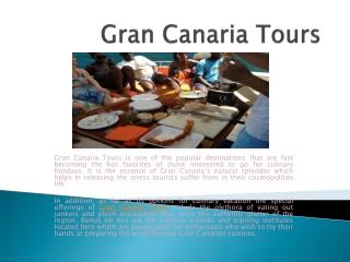 Gran Canaria Tours