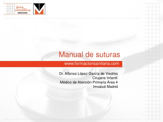 MANUAL DE SUTURAS