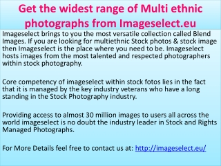 Get the widest range of Multi ethnic photographs from Images