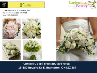 Wedding Florist Brampton | Wedding Florist Mississauga |Wedd