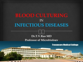 blood culturing in infectious diseases