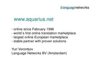 www.aquarius.net