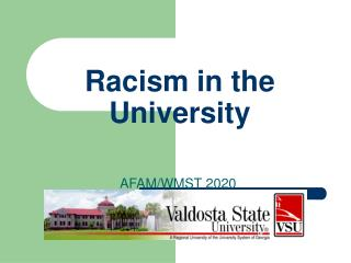 Racism in the University