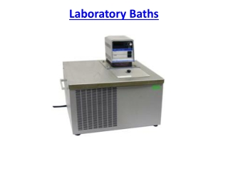 Laboratory Baths