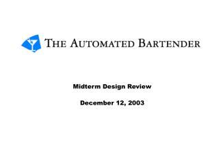 Midterm Design Review