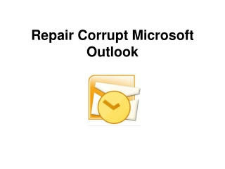 Repair damaged emails by Email Recovery software
