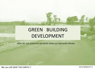 Green building development