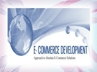 Ecommerce Web Development Company: Provides Online Web Solut
