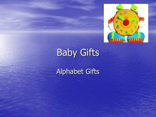 Baby Gifts and personalised children Gifts