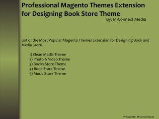 Top 5 Responsive Magento Theme Extension for Book Store
