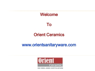 Ceramic Sanitaryware - Wash Basins, Water Closets, Lab Sinks